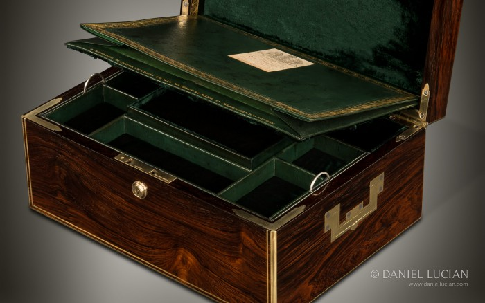 Antique Jewellery Box in Rosewood by David Edwards.