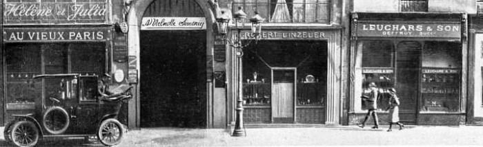 Leuchars Shop - 2 Rue De La Paix, Paris.