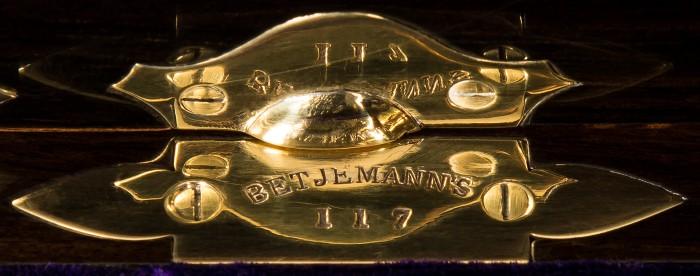 George Betjemann & Sons Patent Stamp Plate.