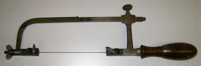 Antique Piercing Saw.
