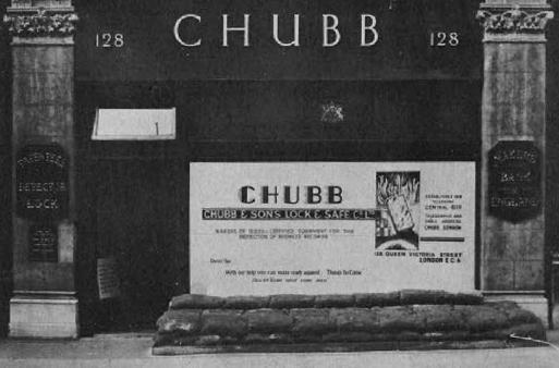Chubb, 128 Queen Victoria Street, London.