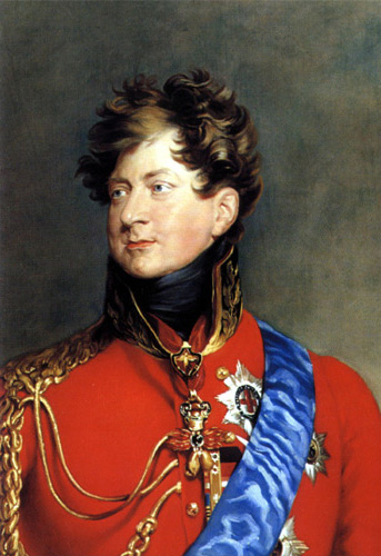 King George IV.