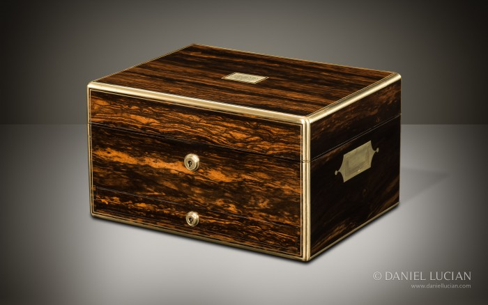 Antique Jewellery Box in Coromandel, by Asprey.