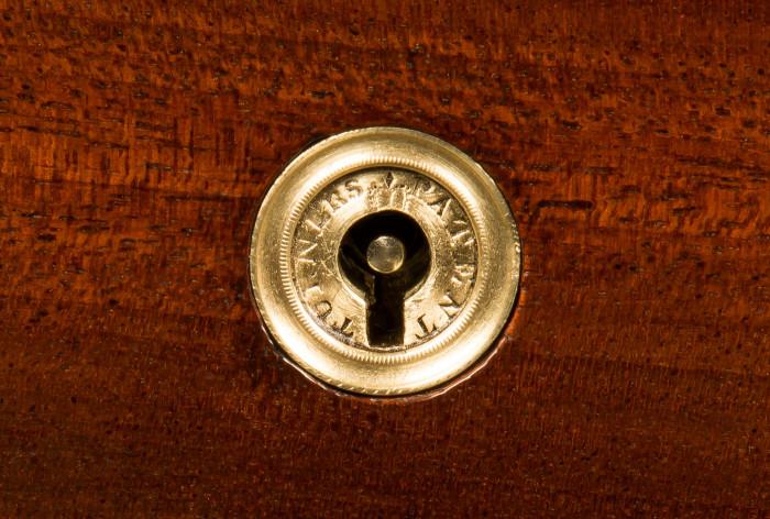 Antique Turner Patent Lock.