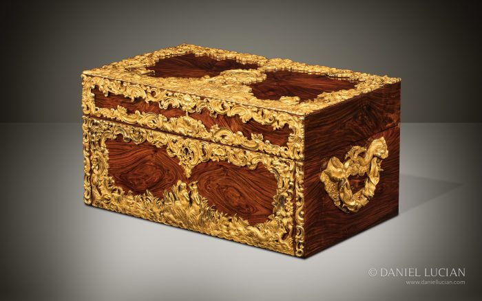 Magnificent Asprey Antique Dressing Case Displayed at the Great Exhibition of 1851.